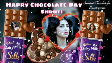 Photo of Choclate Day🍫special video | Create Valentine's Day💞 Videos for Your Crush💕| Choclate day template