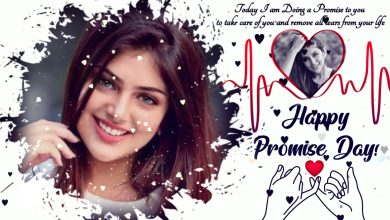 Photo of Promise Day🤞🏻special video | Create Valentine's Day💞 Videos for Your Crush💕| Promise day Template